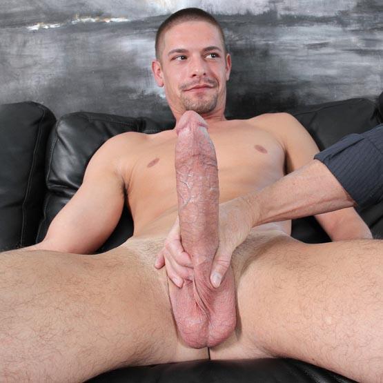 Saw a huge dick