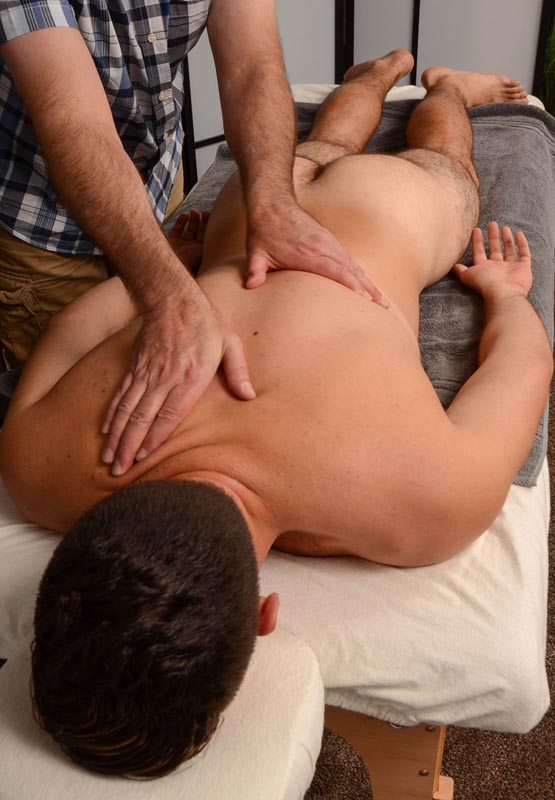 Gay video nude massage